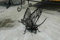 Бабочка, вырезанная при помощи плазменной резки