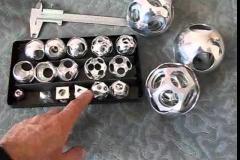 Поделки, изготовленные на токарном станке по металлу