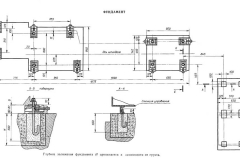Чертеж фундамента токарного станка 16к30ф3