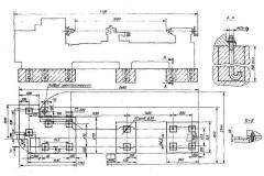 Проектирование фундамента для токарного станка