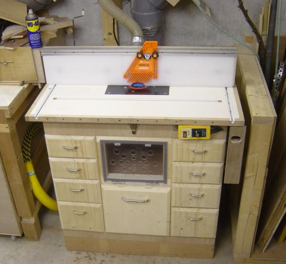 Фрезерный стол для ручного фрезера своими руками - чертеж 58