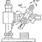 Радиально-сверлильный станок общего назначения с поворотом сверлильного узла