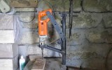 Еще один вариант станка на основе домкрата