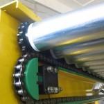 Устройство прямого приводного роликового конвейера