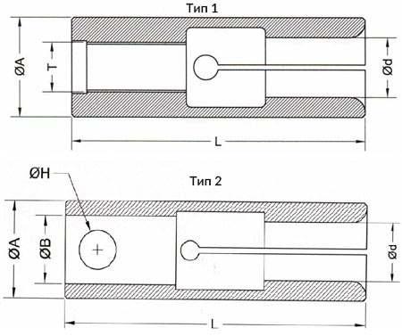 Чертеж цангового патрона Тип BF