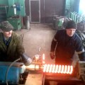 Навивка пружины на токарном станке