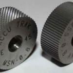 Ролики для накатки прямого и сетчатого рифления