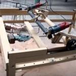 Копировально-фрезерный станок по дереву, изготовленный своими руками