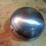 Еще одно изделие в виде шара, изготовленное на токарном станке