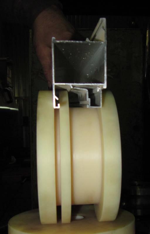 Ролик для гибки алюминиевого профиля