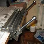 Гильотина для резки металла своими руками: ручная и электромеханическая