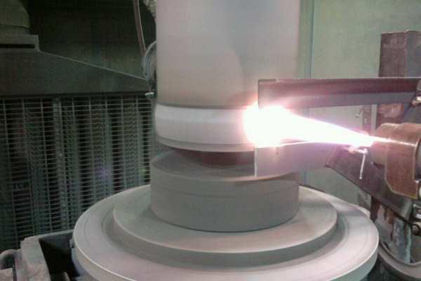 Плазменное напыление металла