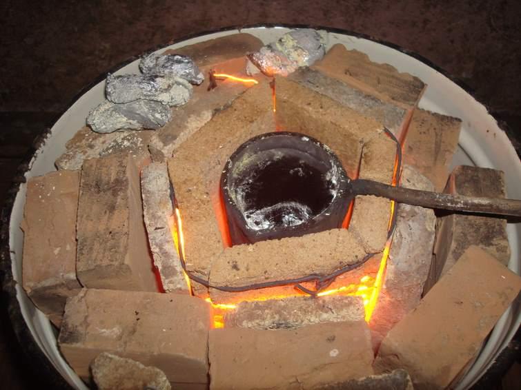 Как сделать печь индукционной плавки