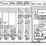 Электрическая схема внутришлифовального станка 3К227А
