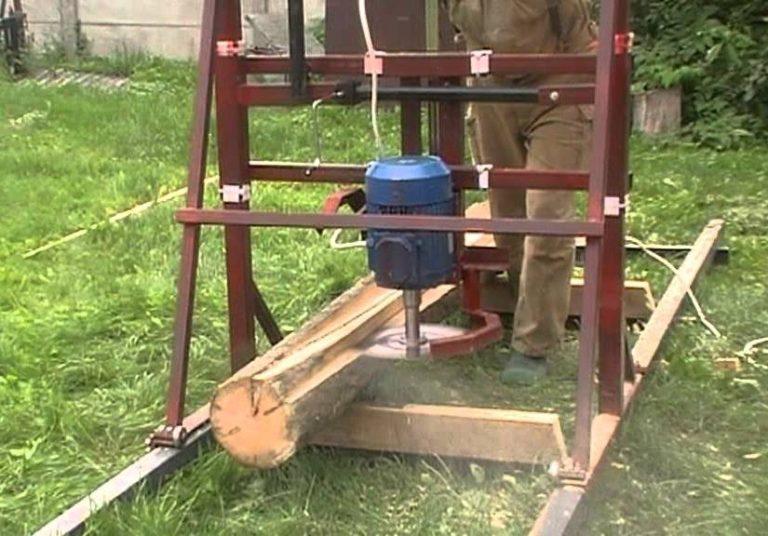 Как сделать пилораму угловую