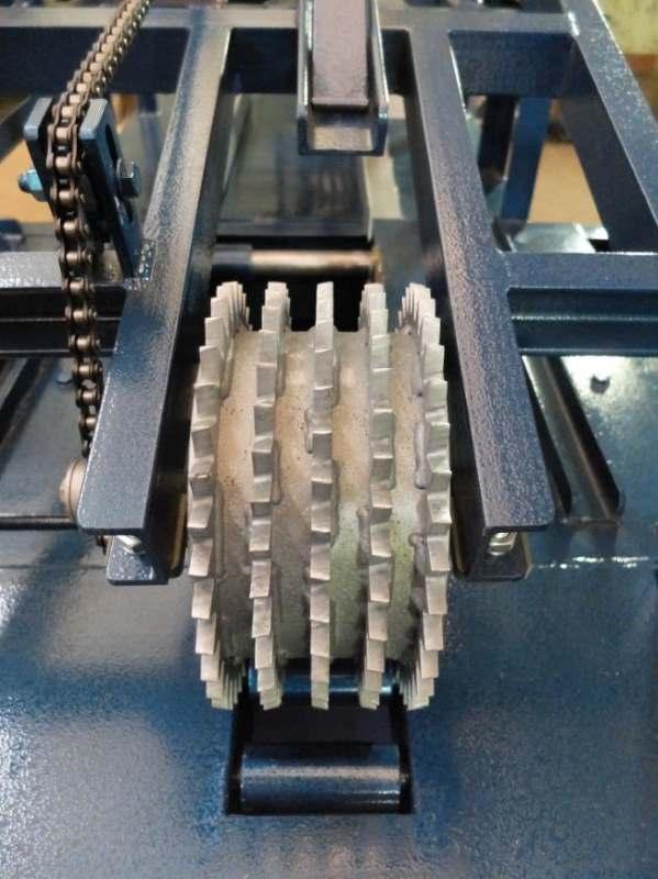 Подающая рябуха станка для переработки горбыля GR-3