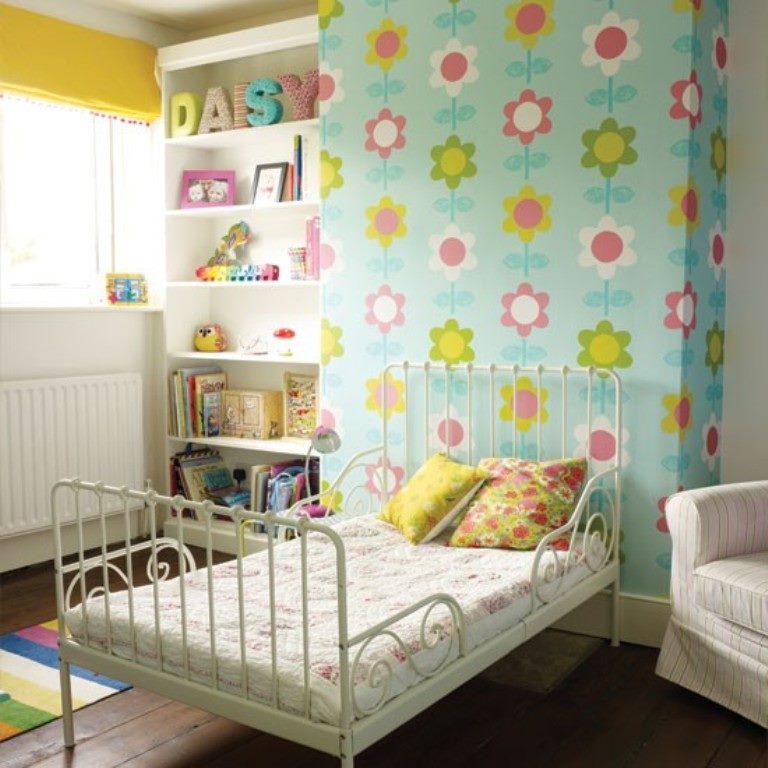 Кованая детская кровать с защитой от падения