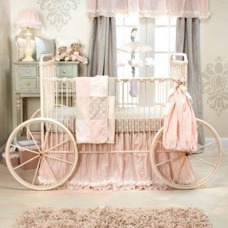 """Кованая для девочки кровать """"Велосипед"""""""