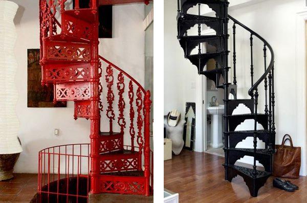 Кованая лестница найдет место в любом стиле вашего дома