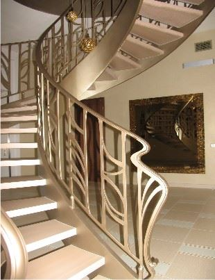 Элегантные перила идеально дополнят атмосферу вашего дома