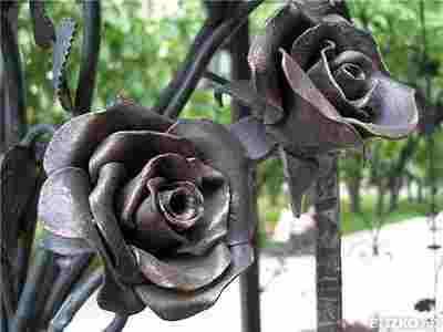 Кованые элементы цветы для украшения любых изделеий