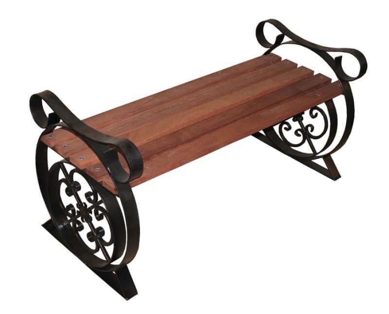 Кованые ножки для скамейки лавочки
