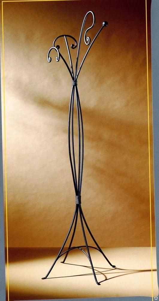 Вешалка напольная металлическая кованая