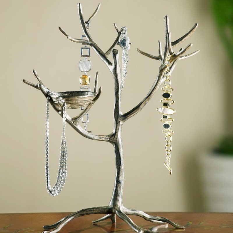 Кованое дерево вешалка для украшений