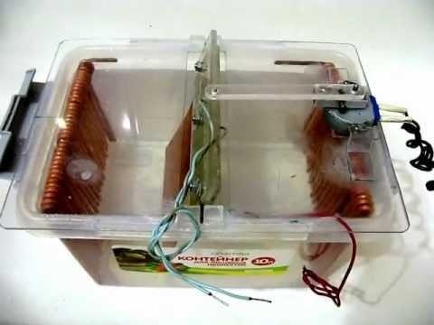 Гальваническая ванна из пластикового контейнера
