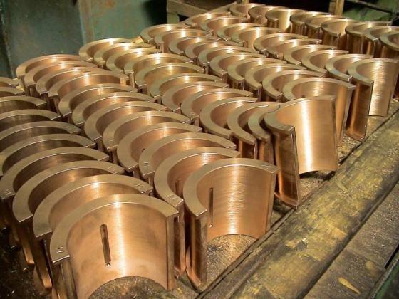 Детали, получаемые из бронзы методом центробежного литься