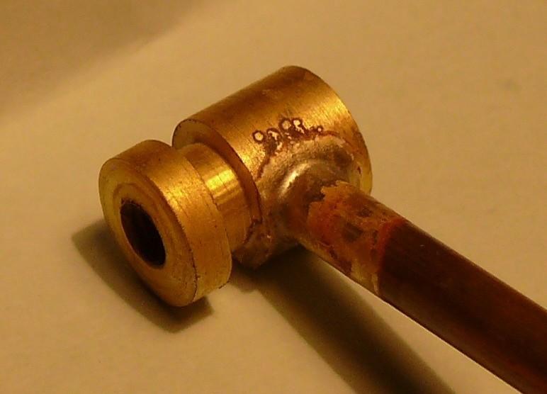 Пайка трубы из латуни