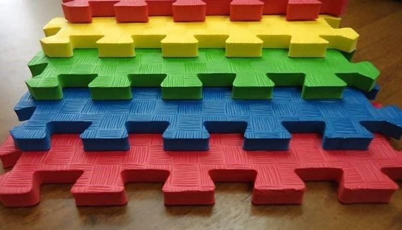 Напольное покрытие из вспененного полимерного материала