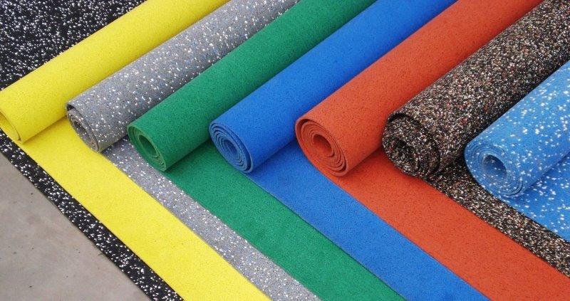Эластичные полимеры - резиновое покрытие