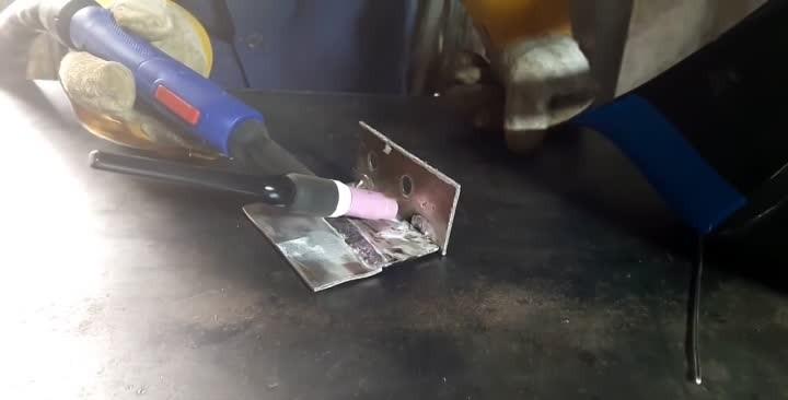 Как сварит алюминий домашних условиях 66