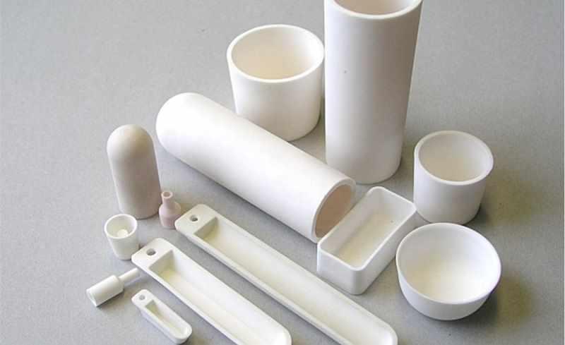 Тигели из керамики разных форм