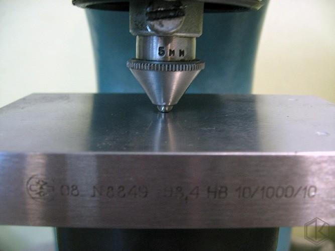 Измерение по методу Бринеллю