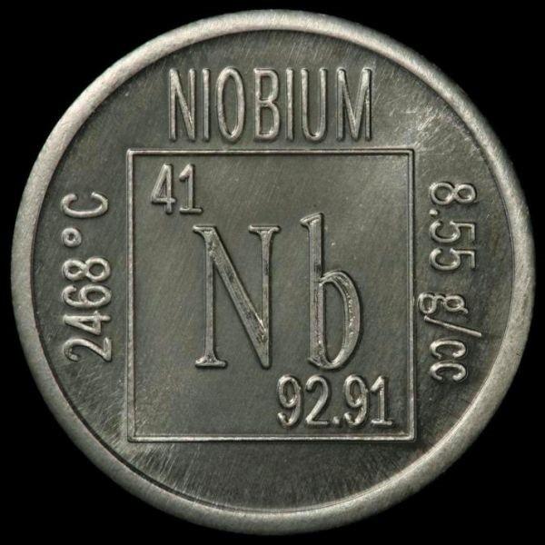 Химический элемент ниобий