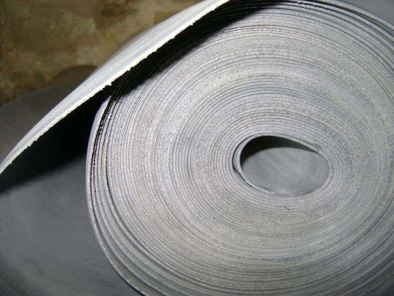 Резина листовая в рулоне