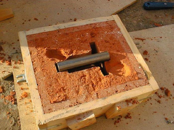 Литье в песчано-глинистую форму