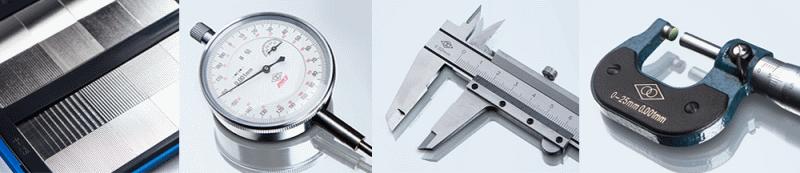 Виды измерительных инструментов