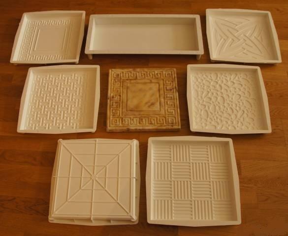 Пластиковые формы для литья в домашних условиях