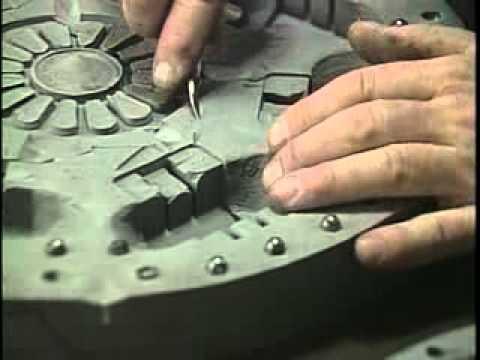 Оснастка из силикона для литья из олова