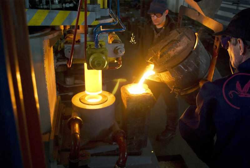 Технология литья из титана
