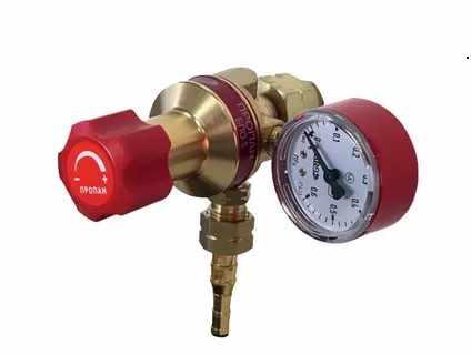 Комплектность газового пропанового редуктора БПО 5-3
