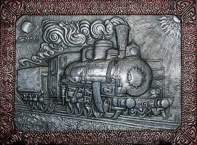 Объемная чеканка по металлу