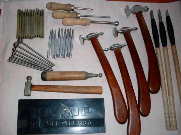 Материалы и оборудование для медной чеканки