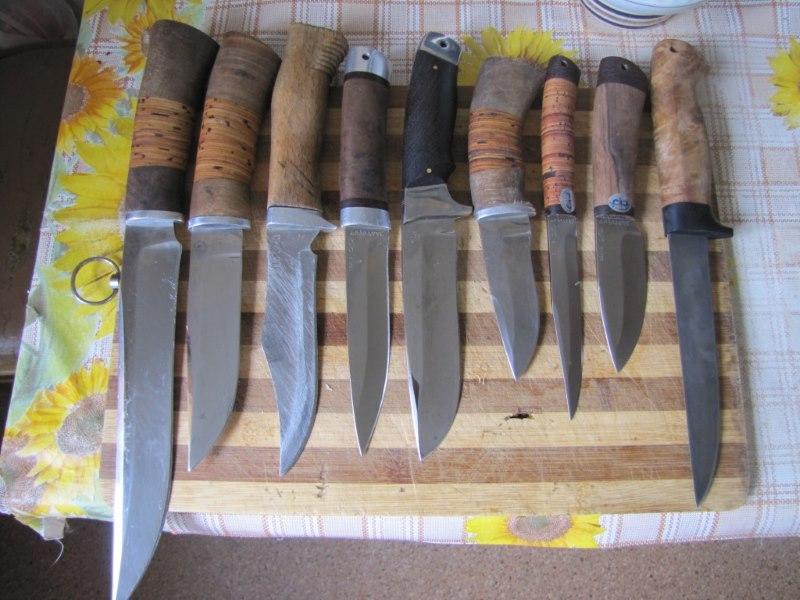 Различные варианты самодельных ножей