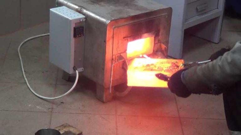Как сделать муфельную печь своими руками для плавки золота 39