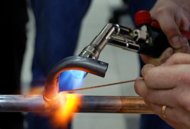 Процесс пайки металлов