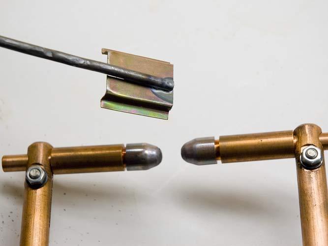 Электрод для конденсаторной сварки